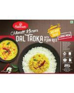 Ready To Eat Yellow Dal Tadka With Plain Rice (375g)