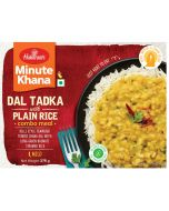 Ready To Eat Yellow Dal Tadka With Plain Rice (375 g)