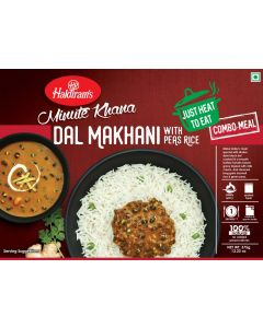 Ready To Eat Dal Makhani With Peas Pulao (375g)