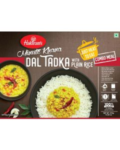 RTE Yellow Dal Tadka With Plain Rice (375g)