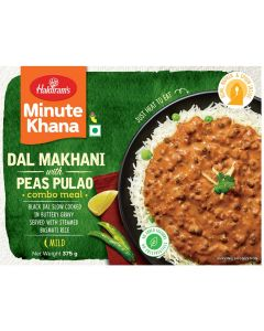 Ready To Eat Dal Makhani With Peas Pulao (375 g)