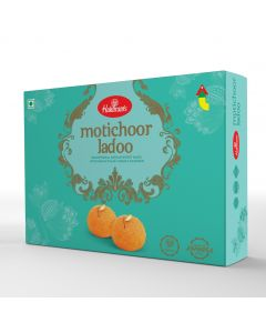 Moti Choor Laddoo (400 g): Shipped to Metro cities only