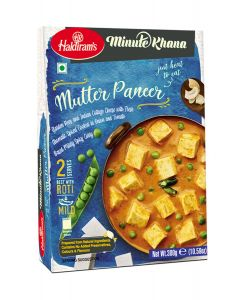 Ready To Eat Mutter Paneer (300 g)