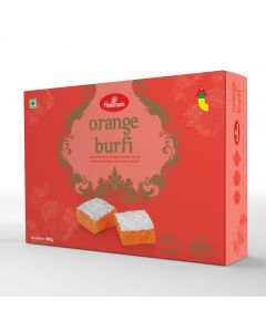 Orange Burfi 400 g - for metro cities only
