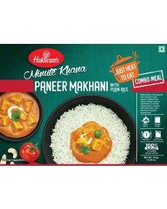 Ready To Eat Paneer Makhani+Plain Rice 375 g