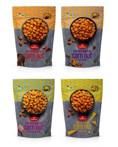 Roasted Spanish Corn Nut - Pack of 4 - 100g each